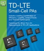 ANADIGICS TD-LTE Small-Cell Power Amplifiers