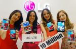 LG Electronics: 10M LTE Smartphones Globally