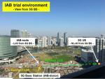 NTT DOCOMO, Huawei IAB Trial