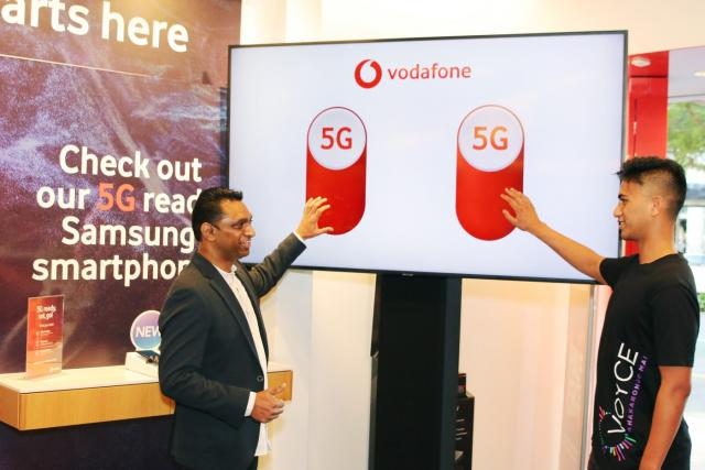 Vodafone New Zealand 5G Service Launch